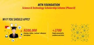 Latest mtn foundation scholarship 2019