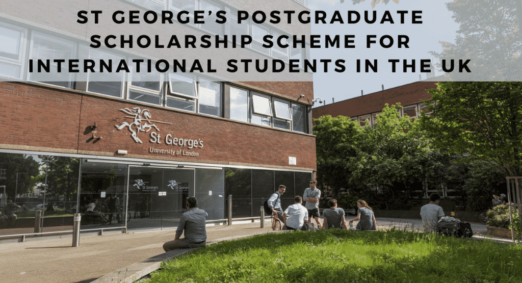 St George's University of London Postgraduate Scholarships