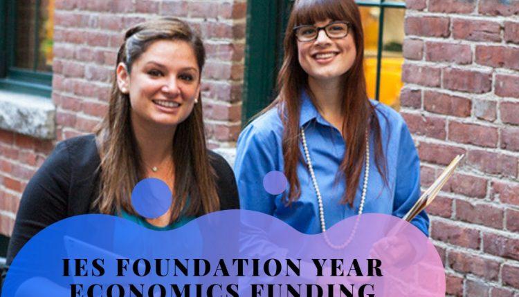 IES-Foundation-Year-Economics-funding