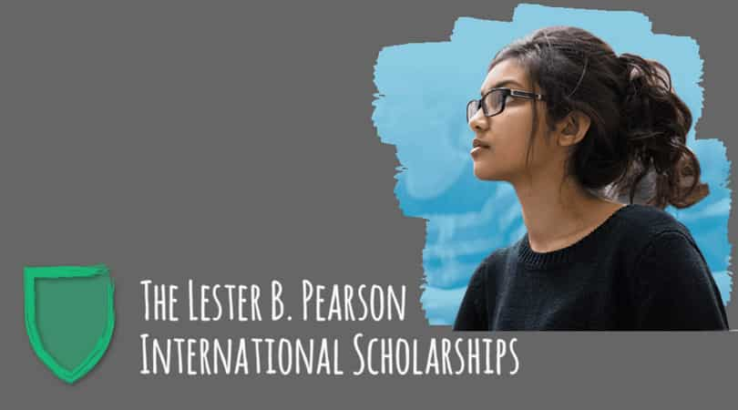 Lester B. Pearson International Scholarship