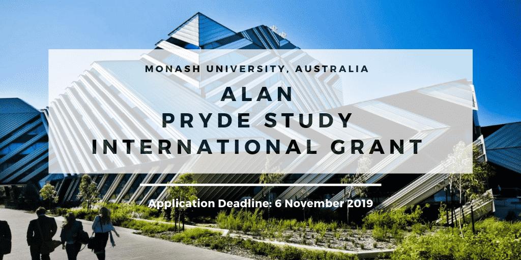 Monash University Information Technology Scholarship
