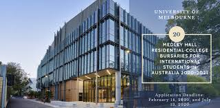 Medley Hall Residential College International Bursaries