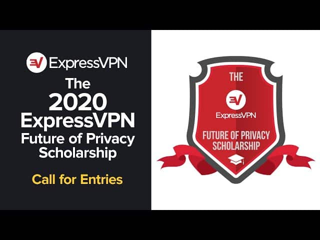 ExpressVPN Future of Privacy Scholarship