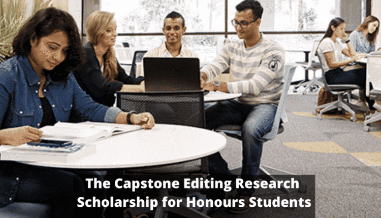 Capstone Editing Research Funding