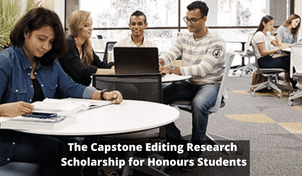 Capstone Editing Research Funding