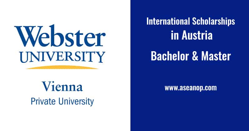 Webster Vienna Private Scholarships in Austria
